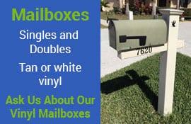 Vinyl Mailboxes